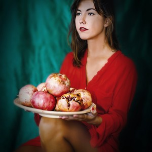 Pomegranate Woman I